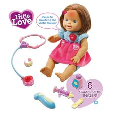 VTECH Ma poupée à soigner - Little Love