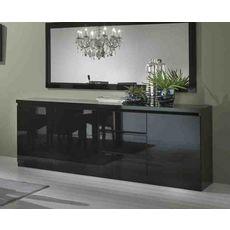 Buffet L220cm, 3 portes 3 tiroirs GENOVA