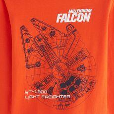 STAR WARS T-shirt manches longues garçon (Orange)