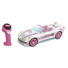 MONDO Voiture Barbie radio télécommandée