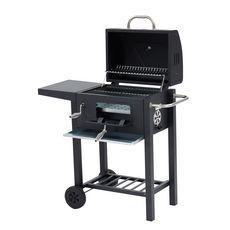 Barbecue charbon de bois américain POLO en acier