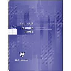 CLAIREFONTAINE Cahier écriture droite/gauche 17x22cm 96 pages-violet