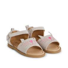 IN EXTENSO Sandalettes bébé fille (Rose)