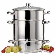 BAUMALU Extracteur de jus à vapeur en inox