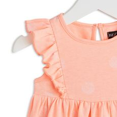 IN EXTENSO Robe jersey bébé fille (Rose corail)