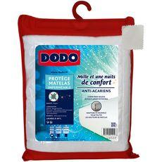 DODO Protège matelas imperméable en polycoton anti-acariens MILLE ET UNE NUITS DE CONFORT