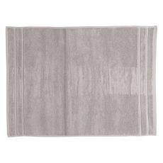 ACTUEL Tapis de bain uni en coton éponge tissé 1000 gr/m2  (Gris clair)