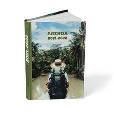 POUCE Agenda scolaire journalier fantaisie Amazonie 2021-2022