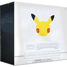 ASMODEE Pokémon coffret dresseur élite - 25ème anniversaire