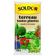 Soldor TERREAU TOUTES PLANTES 35L