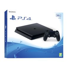 SONY Console PS4 Slim 500Go Chassis F Noire