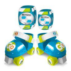 Skids Control Set Patins à Roulettes + Protections - Skids Control