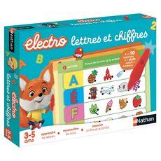 NATHAN Lot Quiz Electronique Animaux + Lettres et Chiffres