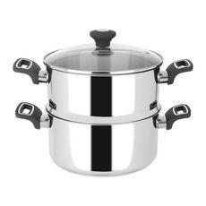 ACTUEL Cuit vapeur inox 24 cm 4 litres