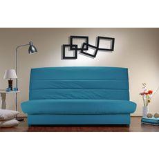 Banquette CLIC CLAC matelas 9 cm mousse 20 kg/m3 (Bleu Turquoise)