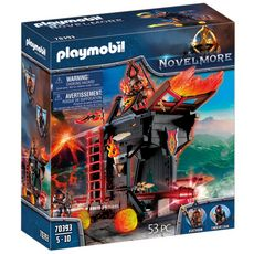 PLAYMOBIL 70393 - Novelmore - Tour d'attaque des Burnham Raiders