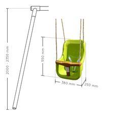 Soulet Siège bébé pour portique de 2m à 2,50m
