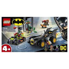 LEGO Batman 76180 Batman contre le Joker : course-poursuite en Batmobile