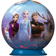 RAVENSBURGER Puzzle 3D Ball 72 pièces - Disney La Reine des Neiges 2