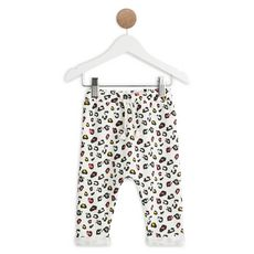 IN EXTENSO Pantalon molleton panthère bébé fille