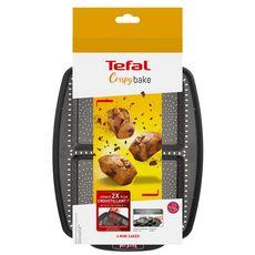 TEFAL Plaque 6 mini cakes CRISPYBAKE silicone