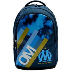 Sac à dos 2 compartiments OLYMPIQUE DE MARSEILLE Football bleu