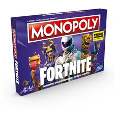 HASBRO Jeu Monopoly Fortnite