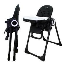 NANIA Chaise haute CARLA – Inclinable et réglable en hauteur – 6-36 mois