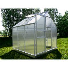 Serre polycarbonate avec base CHUPA 3,61 m²