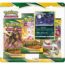 ASMODEE Pack 3 boosters Pokémon Epée et Bouclier