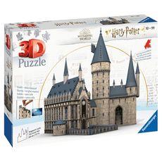 RAVENSBURGER Puzzle 3D 540 pièces Château de Poudlard Harry Potter