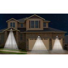 Aquila Appliques solaires Thunderlight 63 LED - Lot de 3