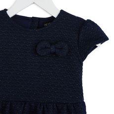 IN EXTENSO Robe molleton bébé fille (Bleu marine)