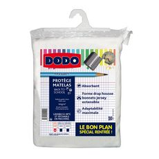 DODO Protège matelas absorbant en polycoton BACK TO SCHOOL