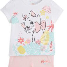 ARISTOCHAT Pyjashort bébé fille (Ecru)