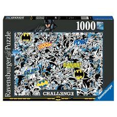 RAVENSBURGER Puzzle Challenge 1000 pièces Batman