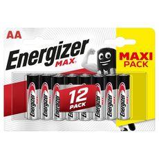 Energizer Piles LR06/AA alcaline 1,5v x12 12 pièces