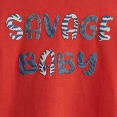 IN EXTENSO T-shirt manches courtes tigre bébé garçon (Orange)