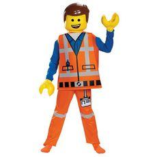 LEGO Déguisement Lego Emmet Deluxe 4-6 ans