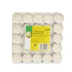 POUCE Bougies chauffe plats non parfumées x100 100 pièces