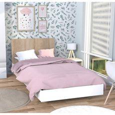 Lit 90x190cm avec tête de lit LAGOS