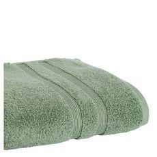 ACTUEL Drap de bain uni en coton 500 g/m² (Vert)