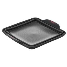 TEFAL Moule à cake carré 23 cm rétractable en silicone CRISPYBAKE