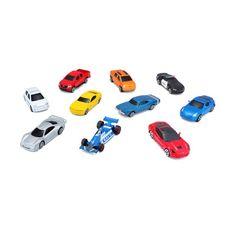 BURAGO Fresh Metal - Pack de 10 voitures miniatures 1/72ème