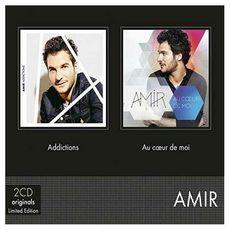 Coffret CD Amir Addictions Nouvelle Version / Au Coeur de moi