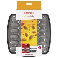 TEFAL Moule 24 mini madeleines CRISPYBAKE silicone