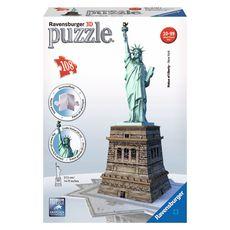 RAVENSBURGER Puzzle 3D Statue de la liberté - 108 pièces