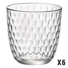 BORMIOLI ROCCO Set de 6 verres à eau SLOT ACQUA 29 cl