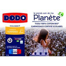 DODO Couette tempérée en coton Bio COTON'ETHIC (Blanc)