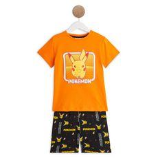 POKEMON Pyjashort garçon (Orange)